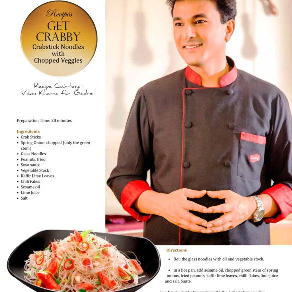 Gadre recipe in Abraxas Magazine (Oct 21, 2016)