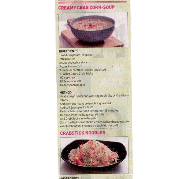 Fresh off the oven, Gadre Crab Stick recipe by chef Vikas Khanna. (Jul 24, 2016)