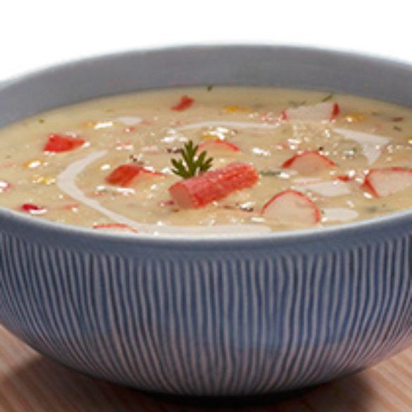 Creamy Crab & Corn Soup