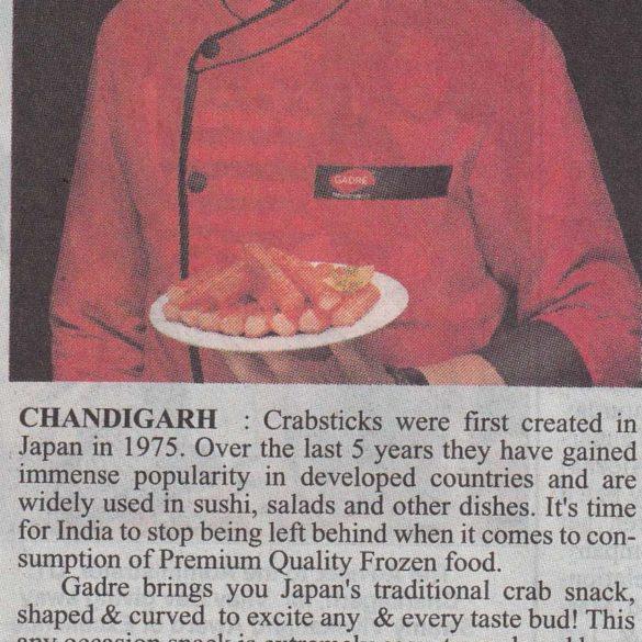 Vikas Khanna Launches Crabsticks -Chandigarh (Mar 10, 2016)